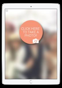 iPad selfie app